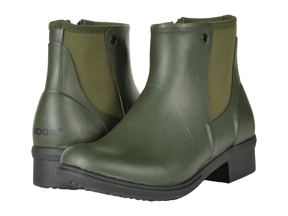 Bogs Auburn Rubber (Dark Green) Women