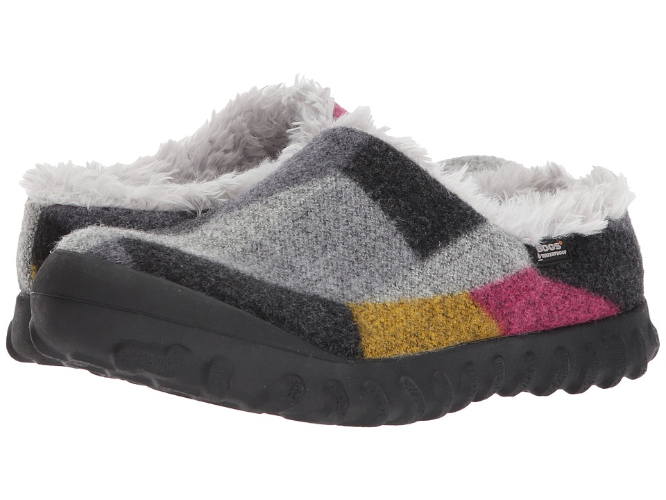Bogs B-Moc Slip-On Wool (Dark Gray/Gold) Women
