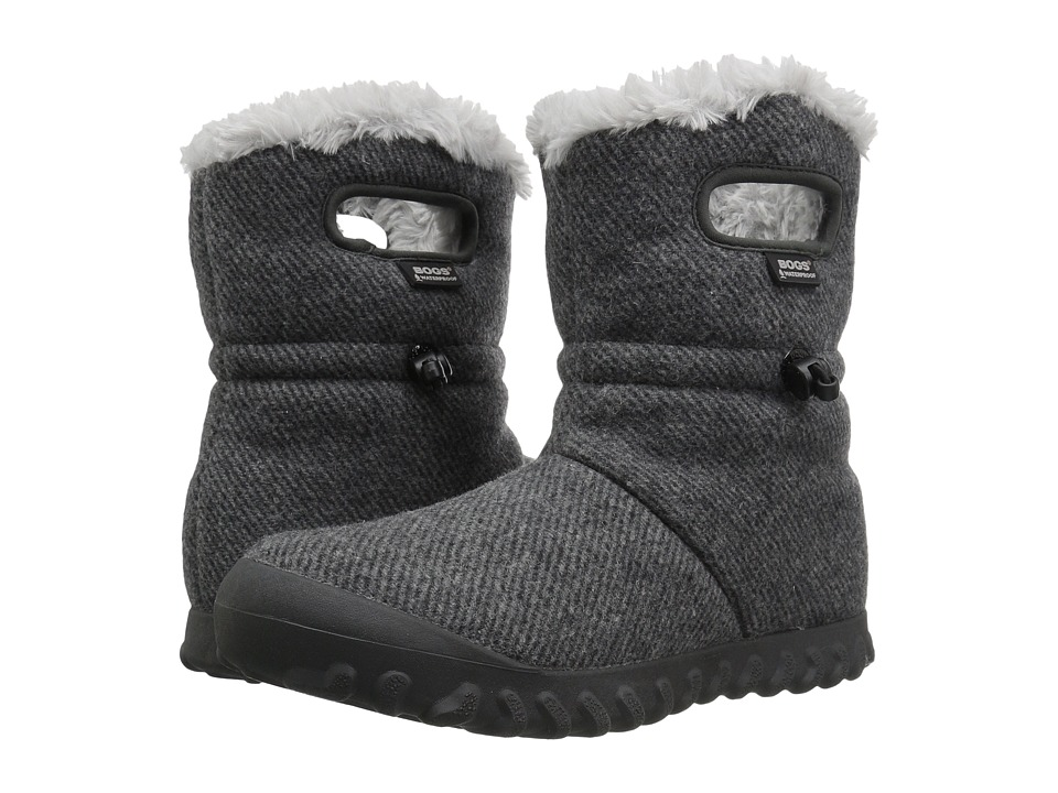 Bogs B-Moc Wool (Charcoal) Women