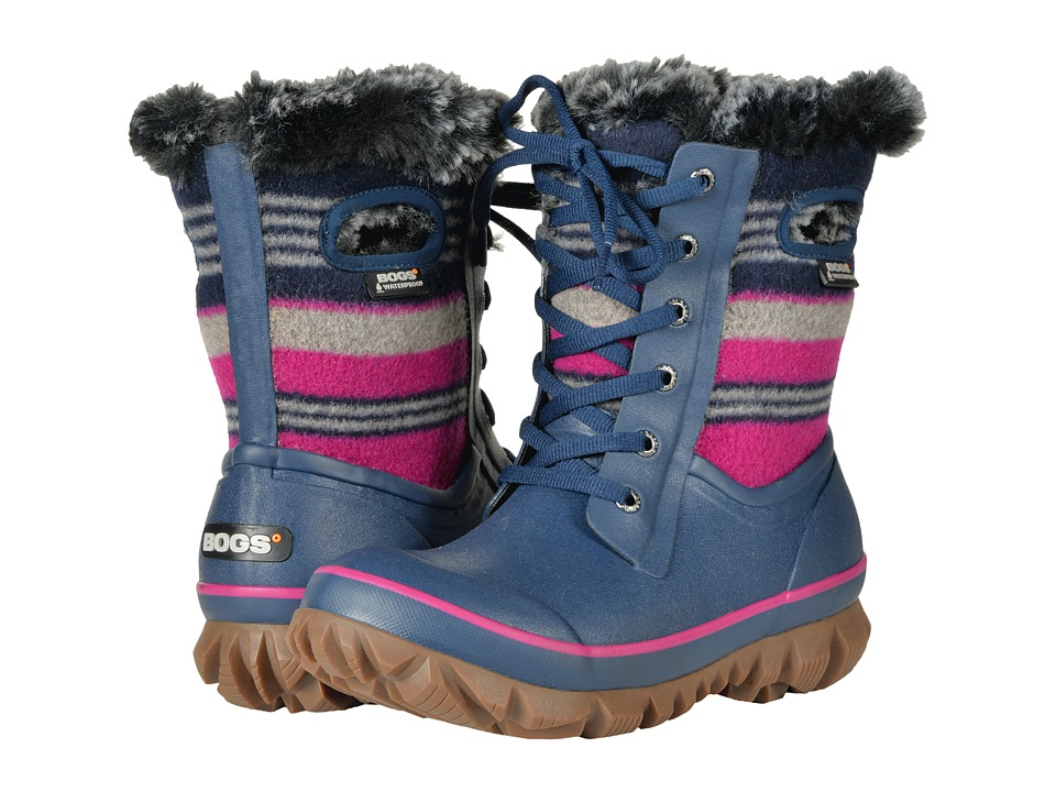 Bogs Arcata Stripe (Dark Blue Multi) Women