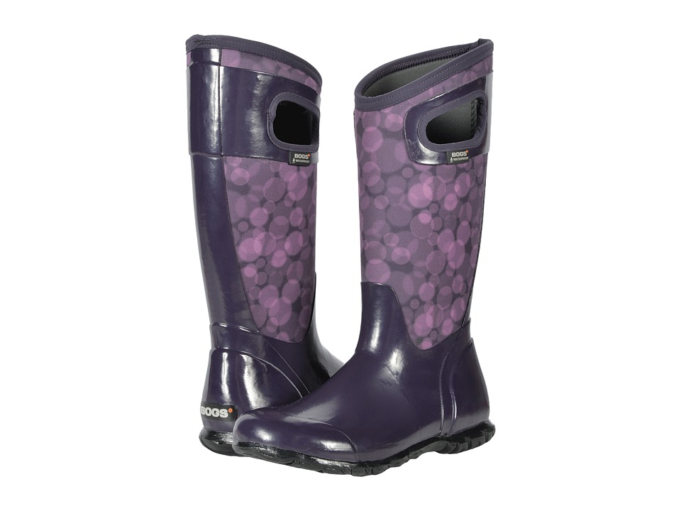 Bogs North Hampton Rain (Eggplant Multi) Women
