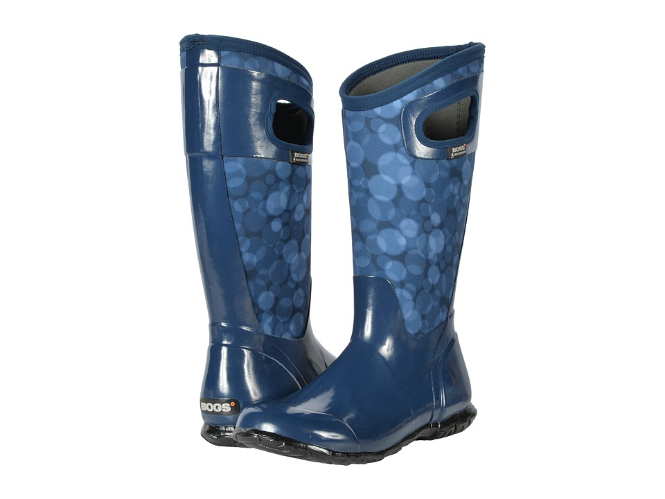 Bogs North Hampton Rain (Dark Blue Multi) Women