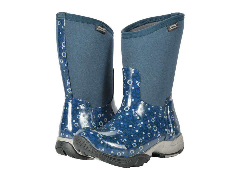 Bogs Daisy Multi Flower (Navy Multi) Women