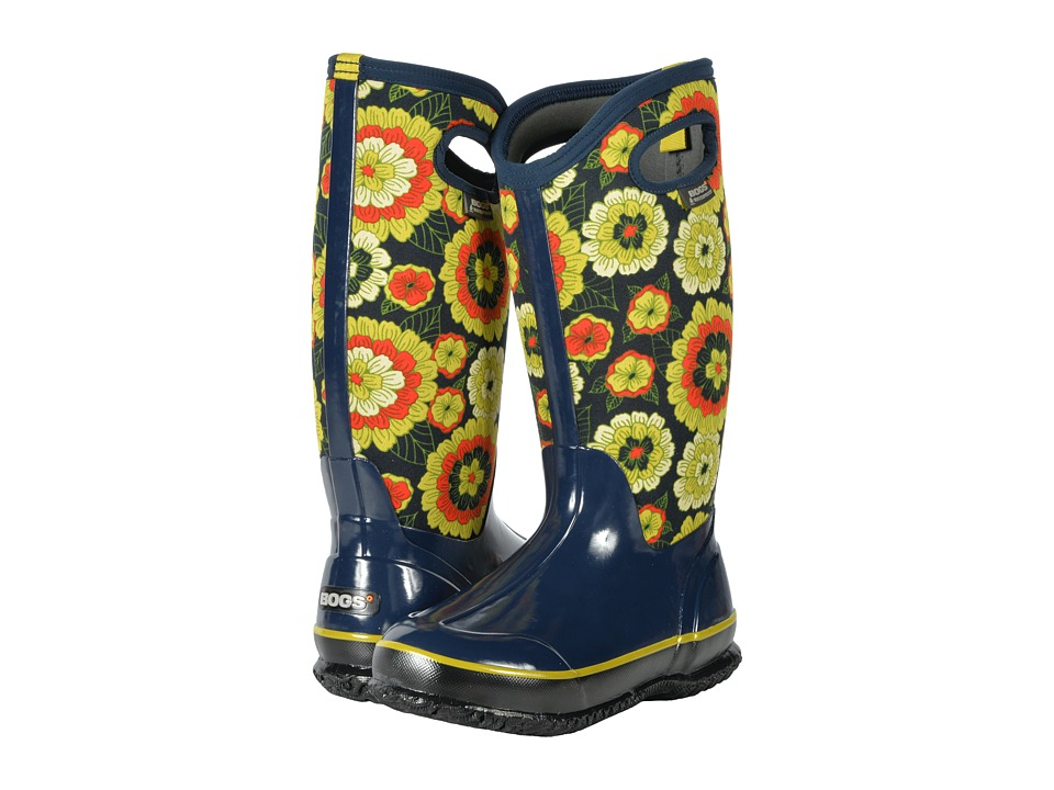Bogs Classic Pansies (Royal Multi) Women