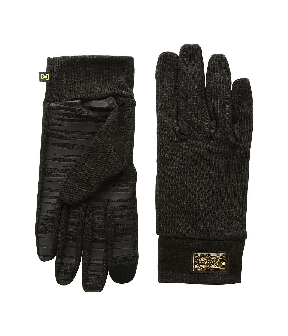 Burton drirelease(r) Wool Liner (True Black Heather 1) Liner Gloves