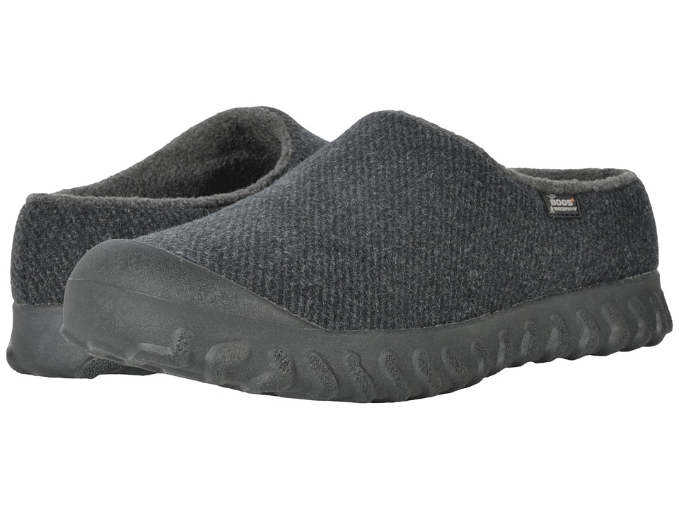 Bogs - B-Moc Slip-On Wool (Black) Mens Boots