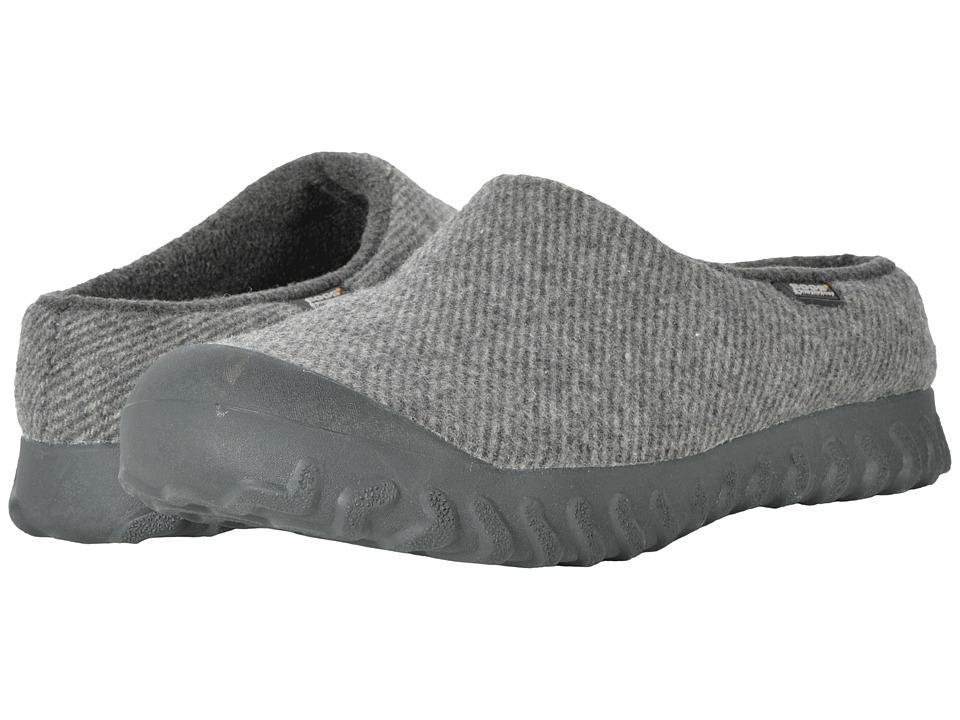 Bogs B-Moc Slip-On Wool (Charcoal) Men's Boots