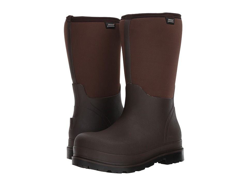 Bogs Stockman Composite Toe (Brown) Men