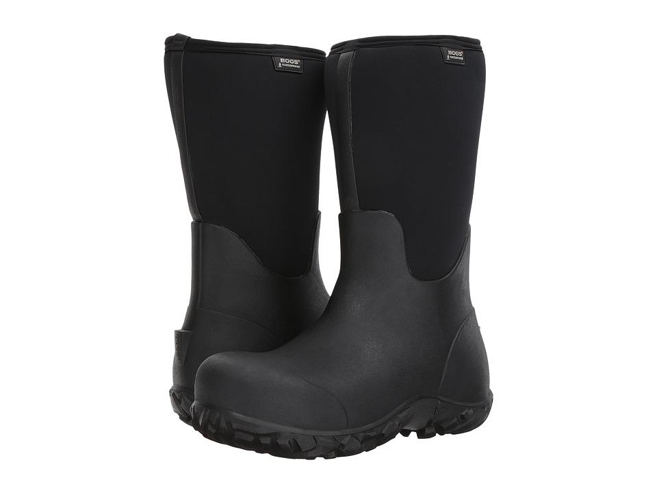 Bogs Workman Composite Toe (Black) Men