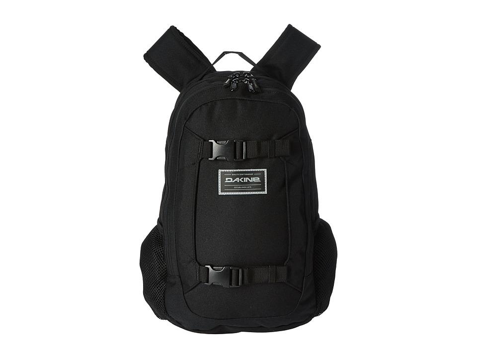 Dakine Mission Mini Backpack 18L (Youth) (Black) Backpack Bags