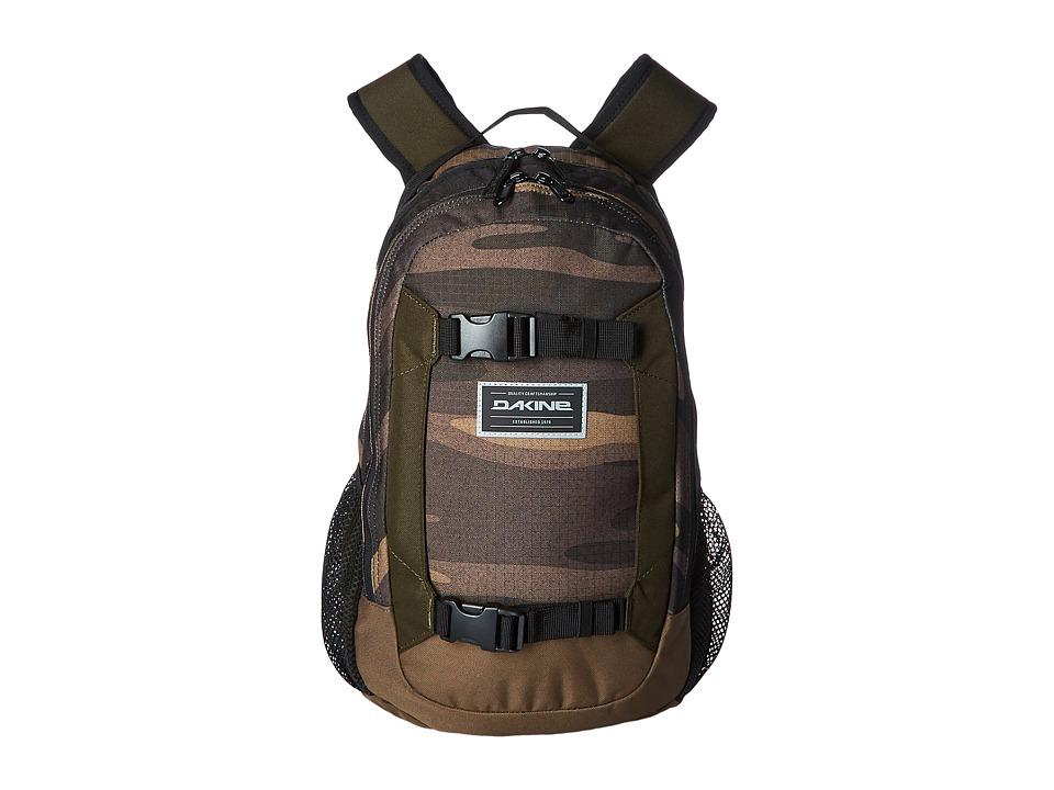 Dakine Mission Mini Backpack 18L (Youth) (Field Camo) Backpack Bags