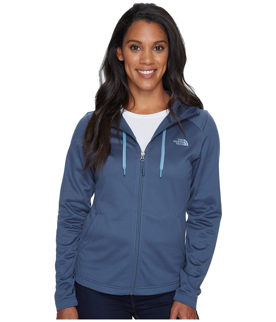 North Face Tech Mezzaluna Hoodie (Ink Blue) Women's Sweat...
