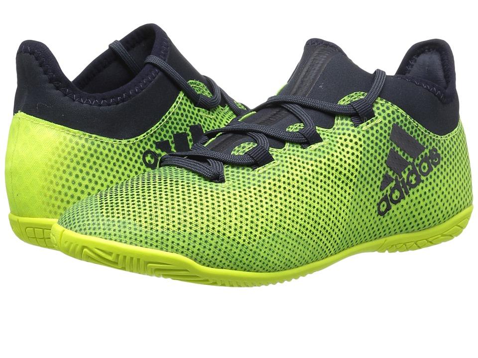 adidas Kids X Tango 17.3 IN J Soccer (Little Kid/Big Kid) (Solar Yellow/Legend Ink) Kids Shoes