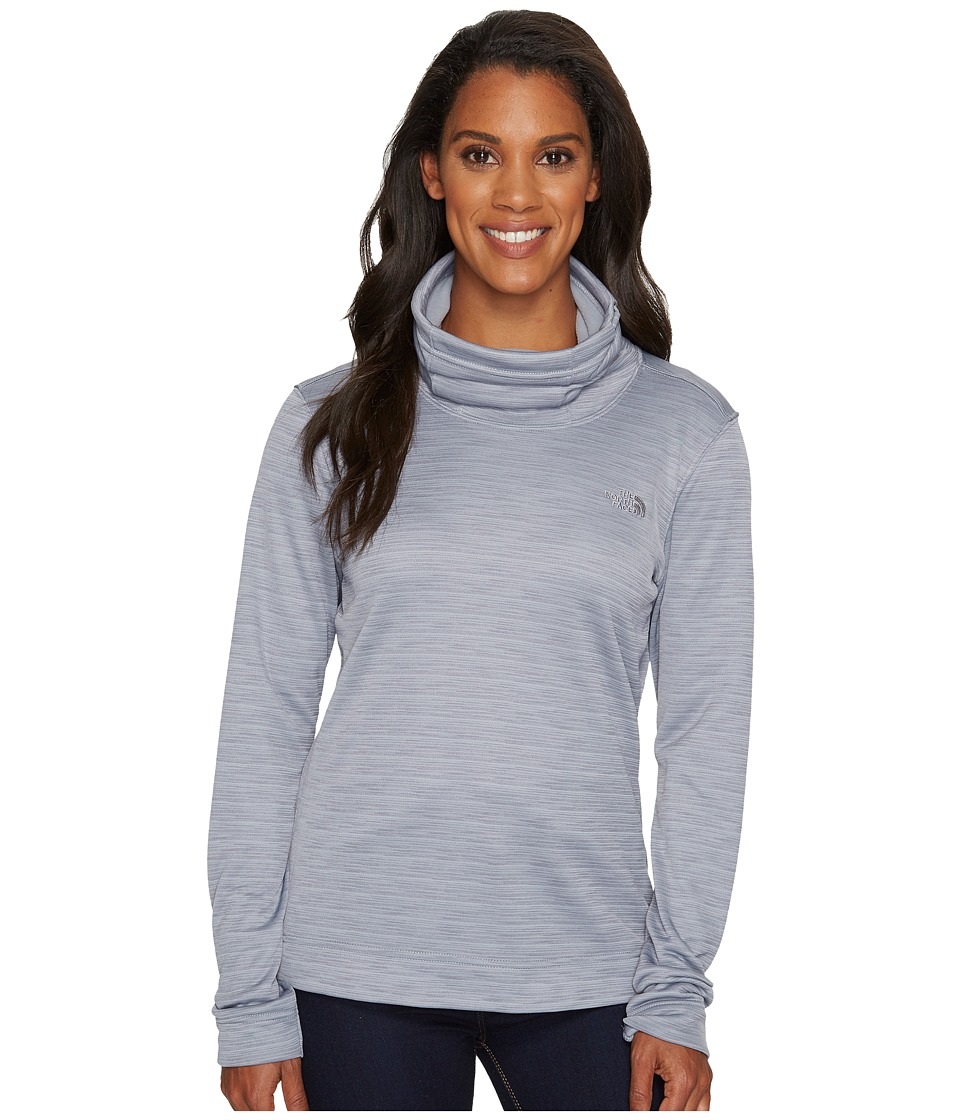 The North Face Novelty Glacier Pullover (Mid Grey Stria) Women