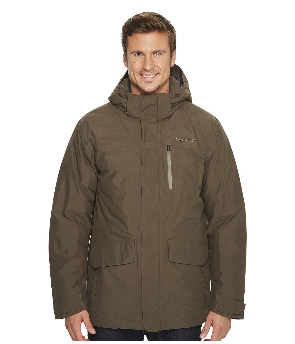 Marmot Yorktown Featherless Jacket (Deep Olive) Men's Coat