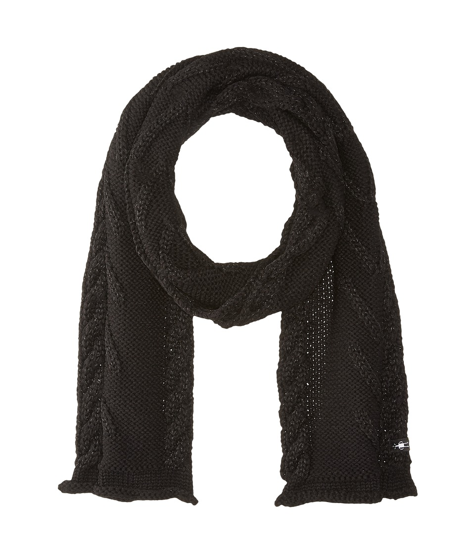 Smartwool - Marquette Scarf (Black) Scarves