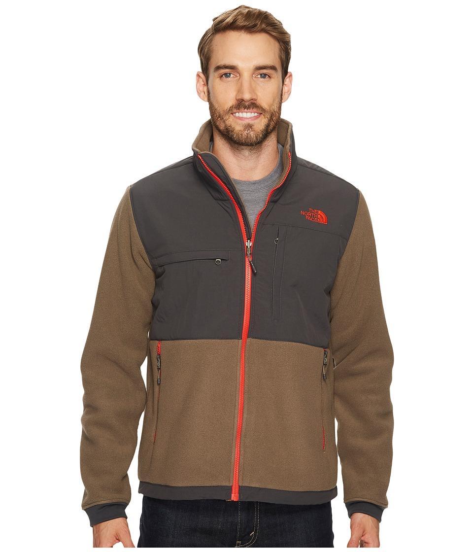 The North Face Denali 2 Jacket (Recycled Falcon Brown/Asphalt Grey) Men