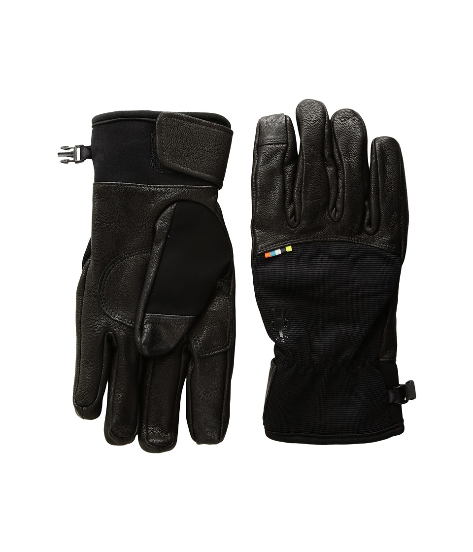 Smartwool PhD(r) Spring Gloves (Black) Extreme Cold Weather Gloves