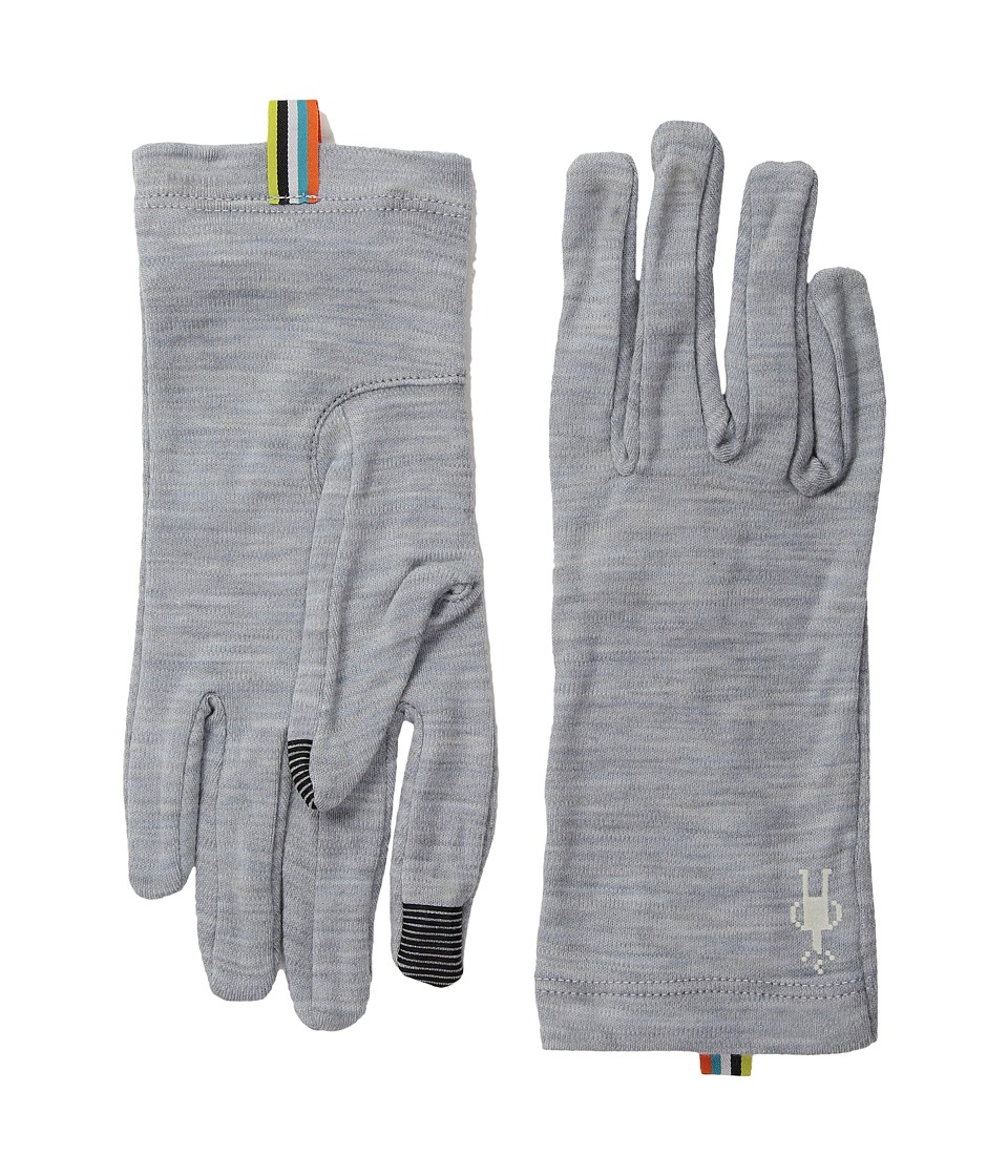 Smartwool NTS Mid 250 Gloves (Blue Ice Heather) Wool Gloves