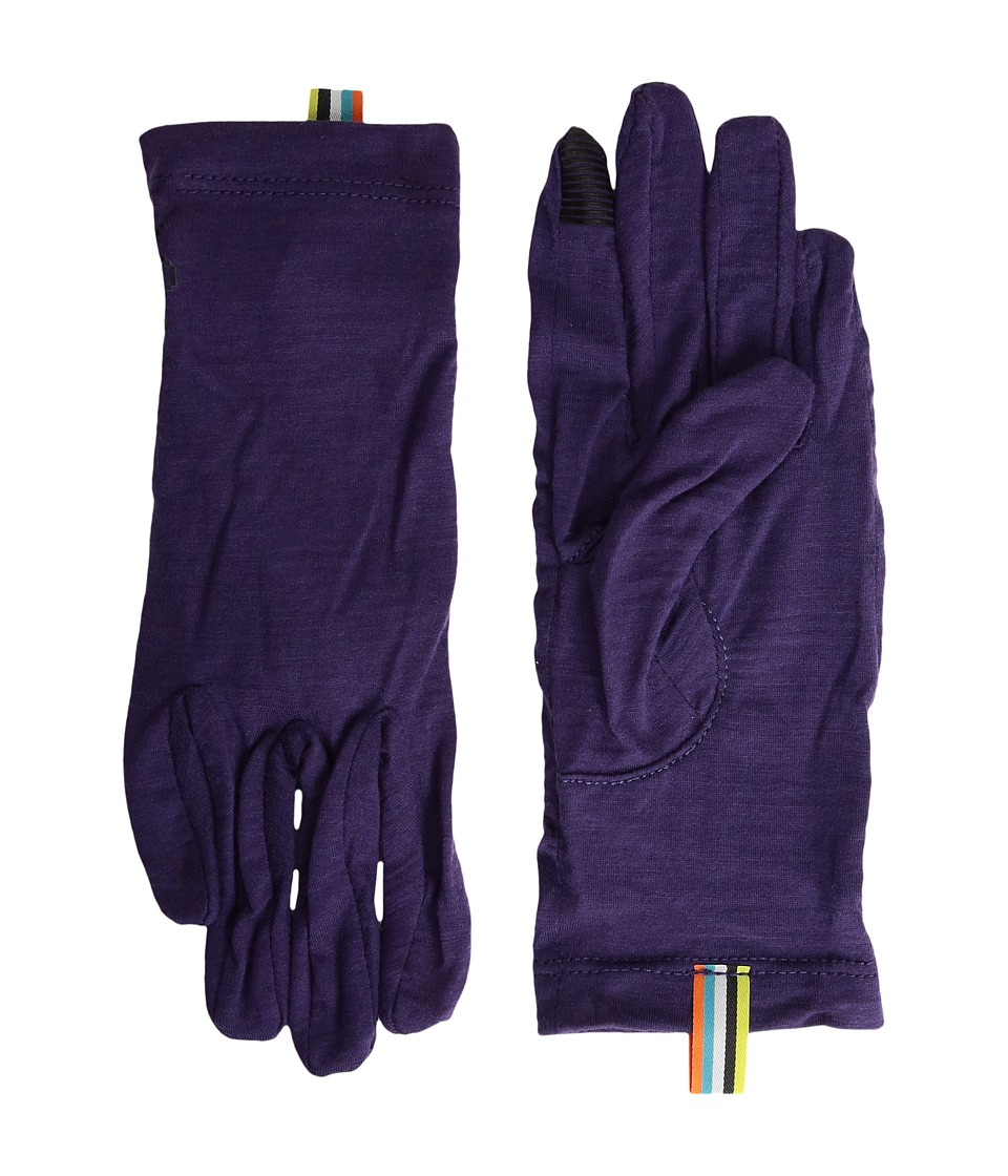 Smartwool Merino 150 Gloves (Mountain Purple) Extreme Cold Weather Gloves