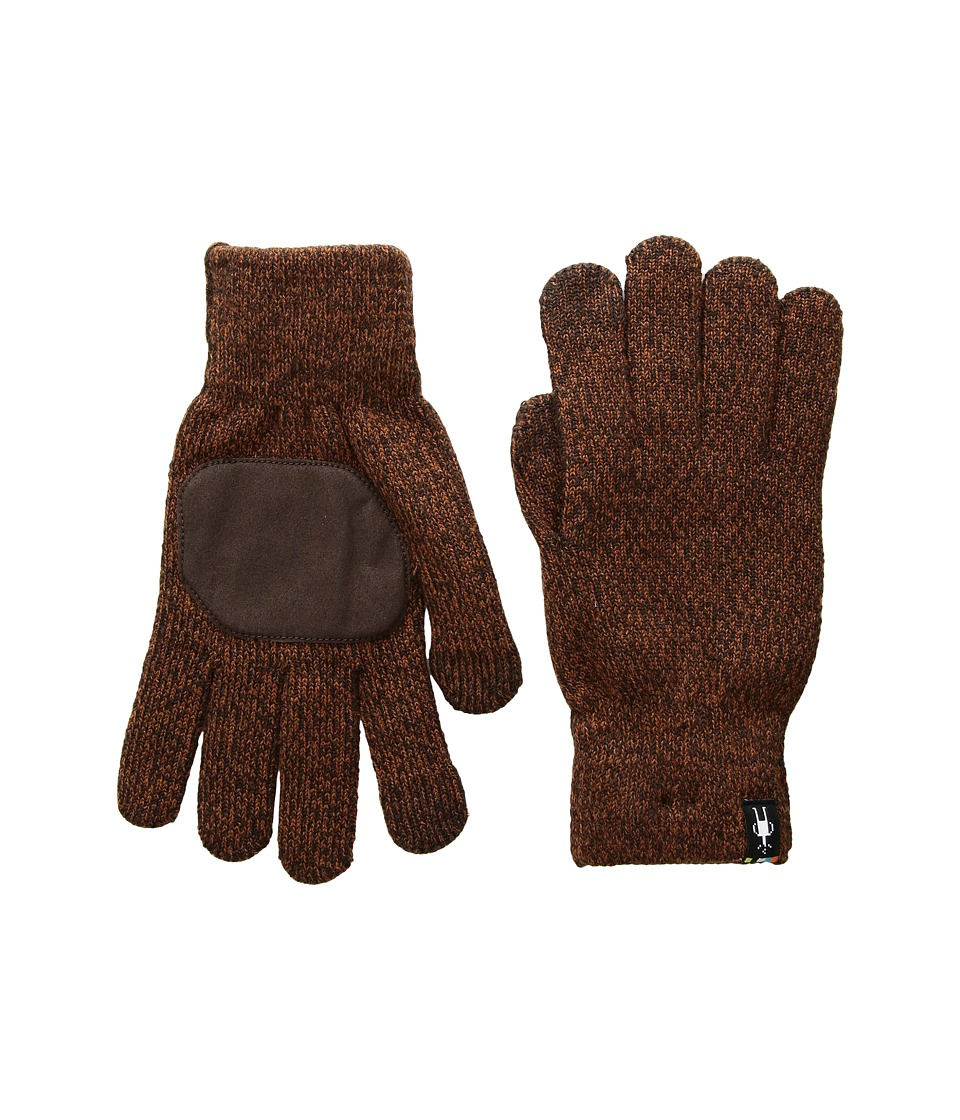 Smartwool Cozy Grip Gloves (Sumatra Heather) Snowboard Gloves