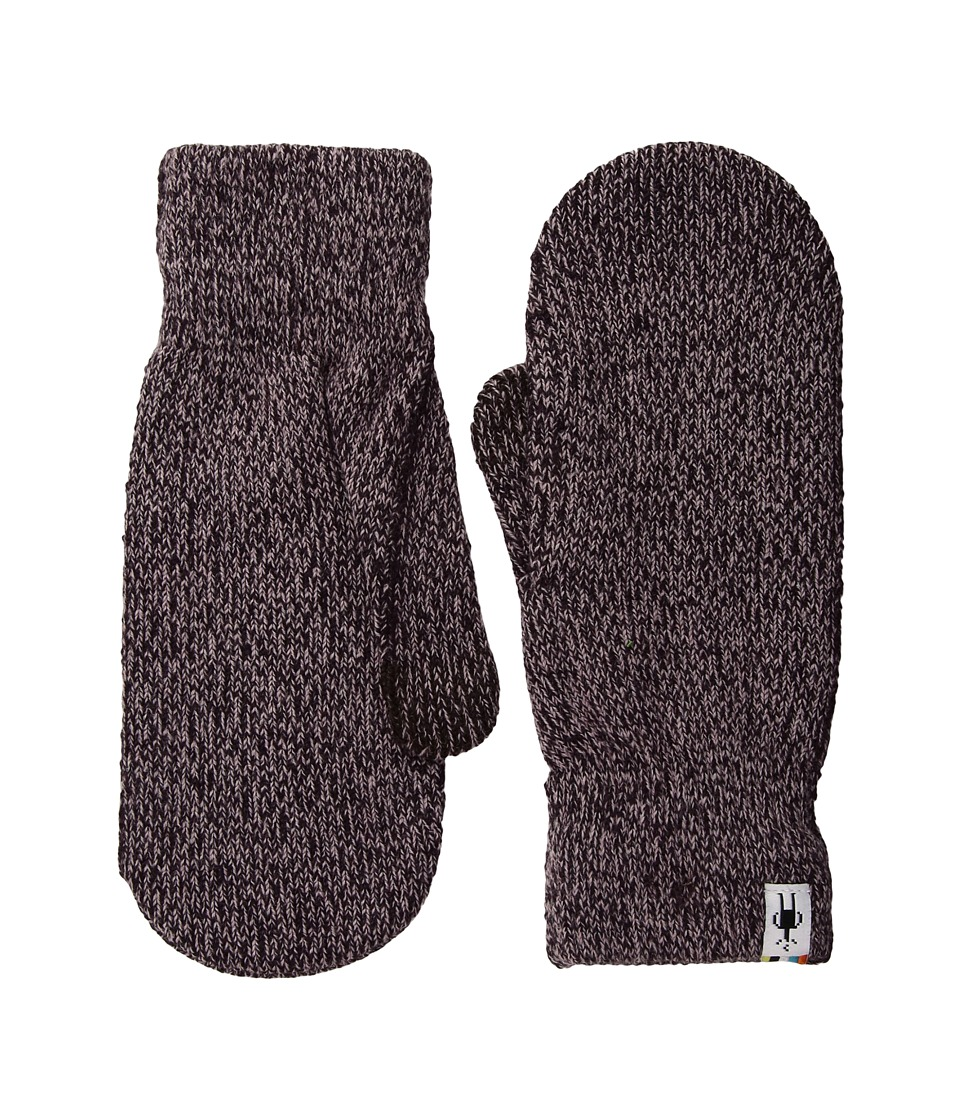 Smartwool Cozy Mitten (Bordeaux Heather) Over-Mits Gloves