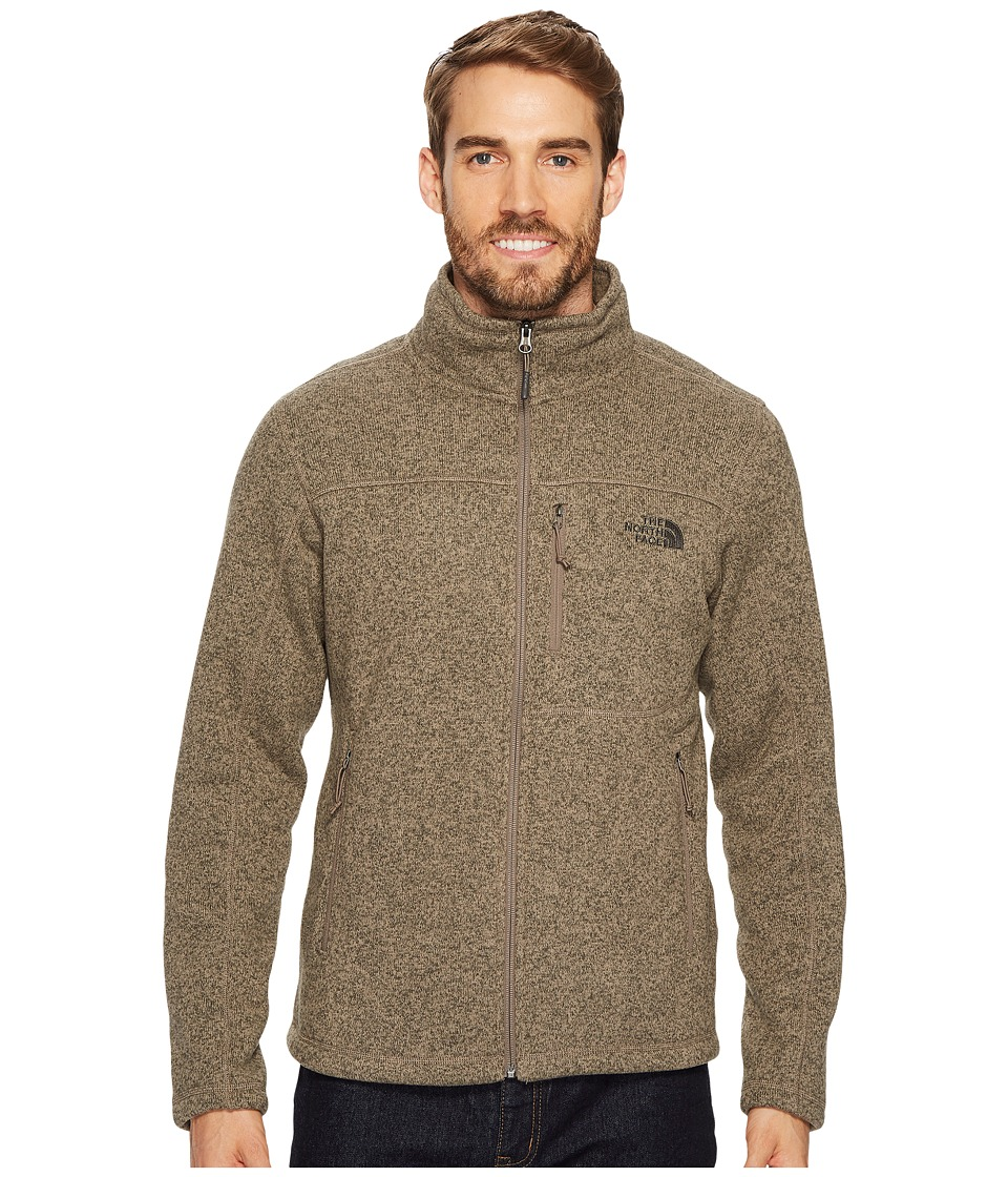 The North Face - Gordon Lyons Full Zip (Falcon Brown Heather 1) Mens Jacket