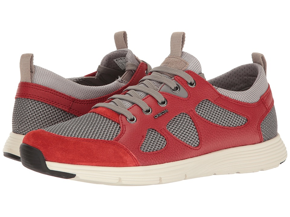 Geox M SNAPISH 1 (Rock/Red) Men
