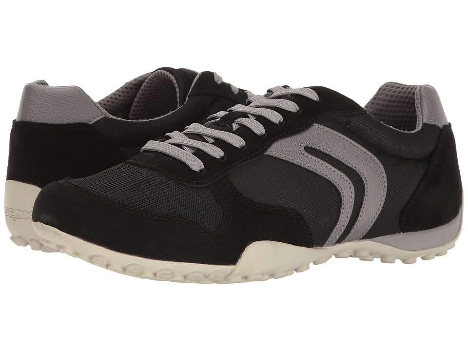 Geox M SNAKE 118 (Black/Grey) Men