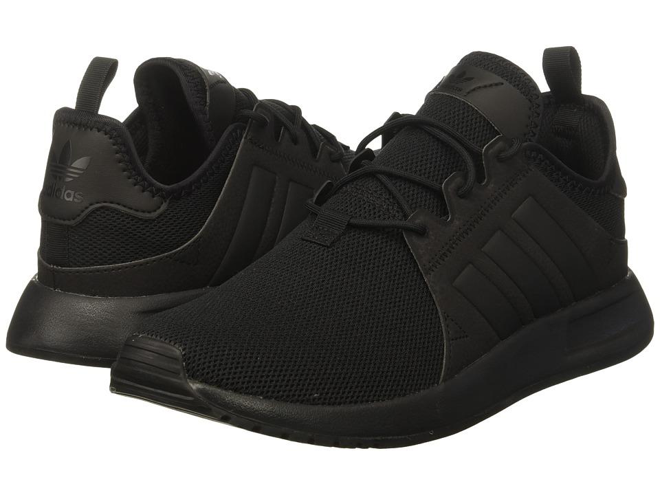 adidas Originals Kids X_PLR (Big Kid) (Black/Trace Grey/Black) Kids Shoes