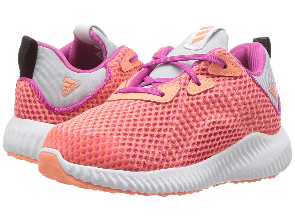 adidas Kids Alphabounce I (Toddler) (Diva/Bloom/Metallic Silver) Girls Shoes