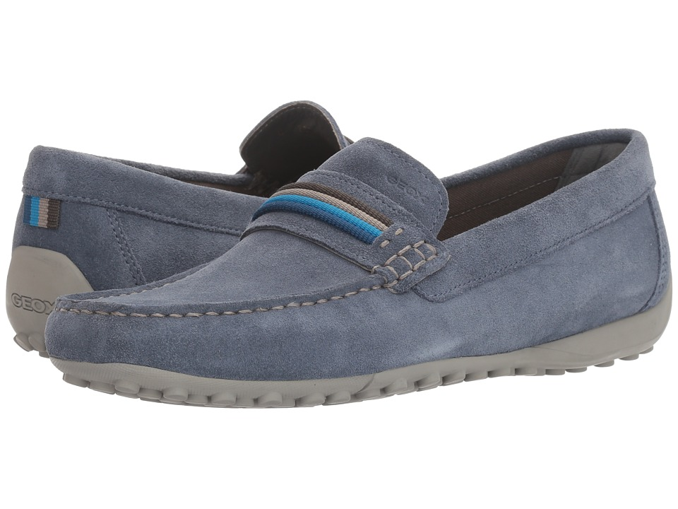 Geox M SNAKE MOC 14 (Light Navy) Men