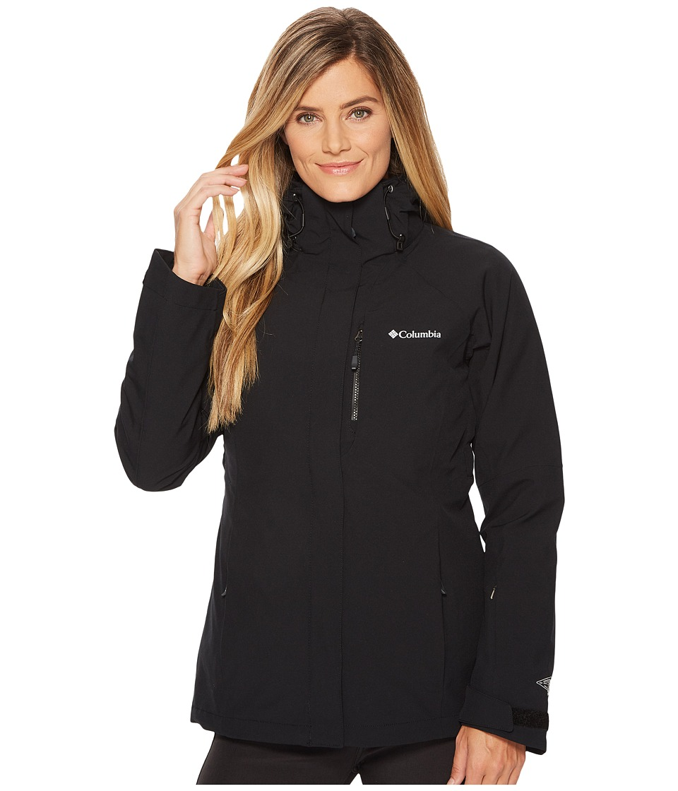 Columbia Herz Mountain Interchange Jacket (Black) Women