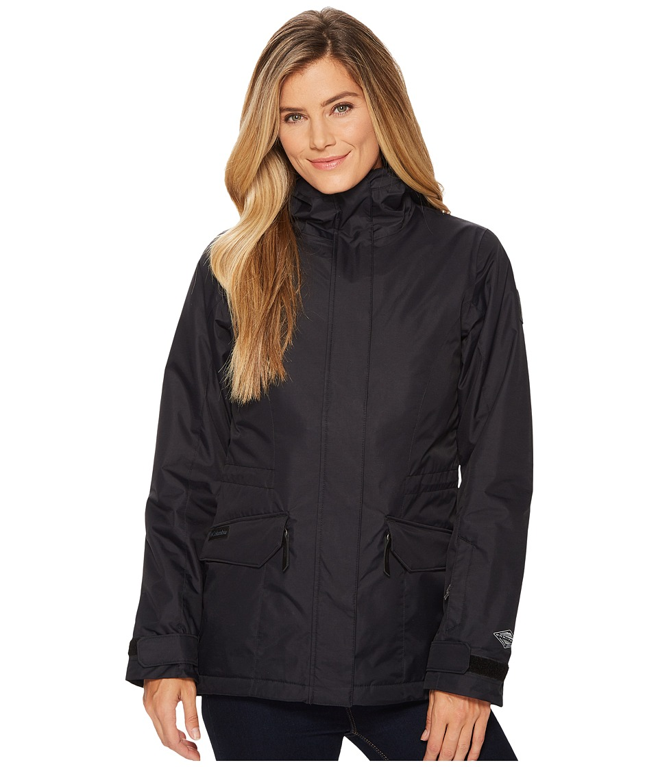 Columbia Catacomb Crest Interchange Jacket (Black) Women