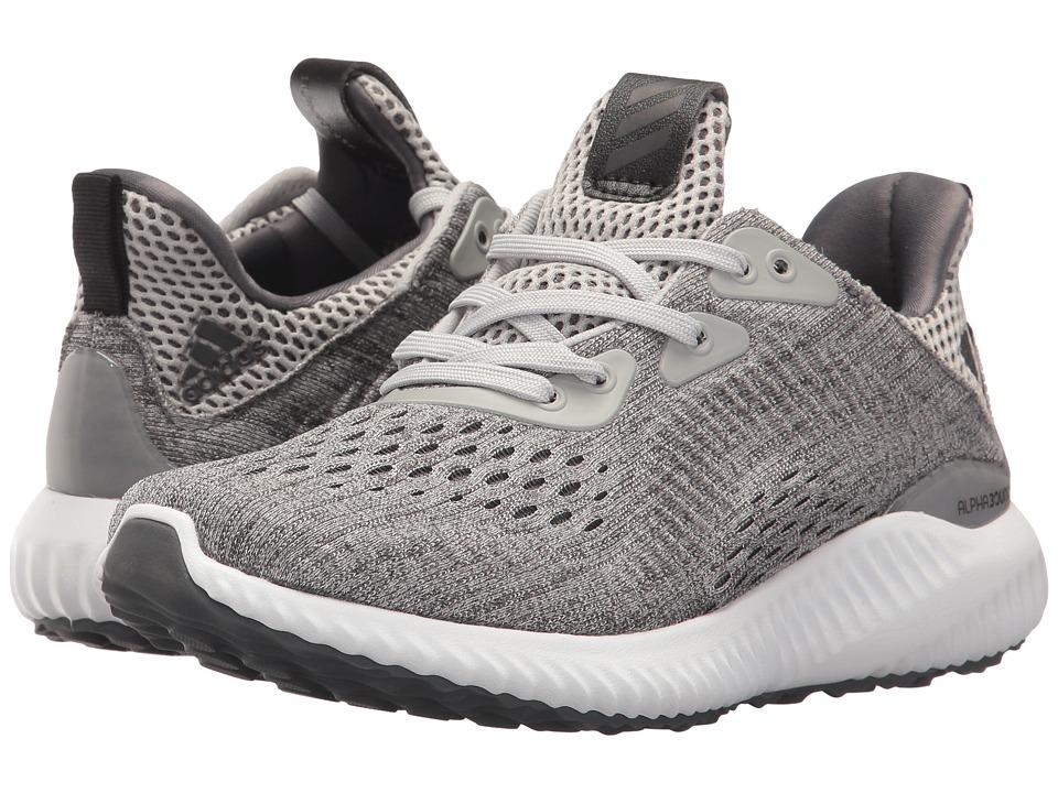 adidas Kids Alphabounce EM J (Big Kid) (Core Black/Footwear White) Boys Shoes