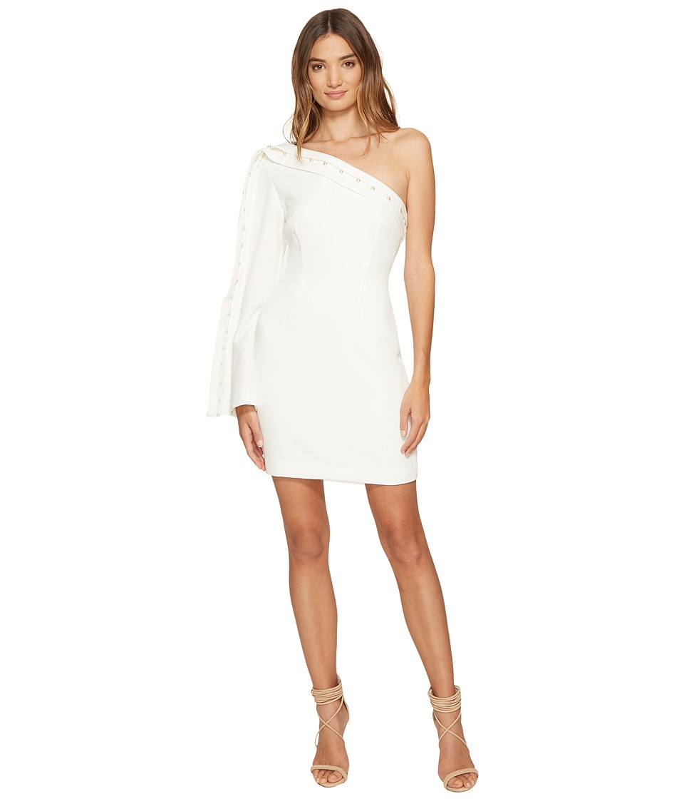 KEEPSAKE THE LABEL Signals Long Sleeve Mini Dress (Ivory) Women