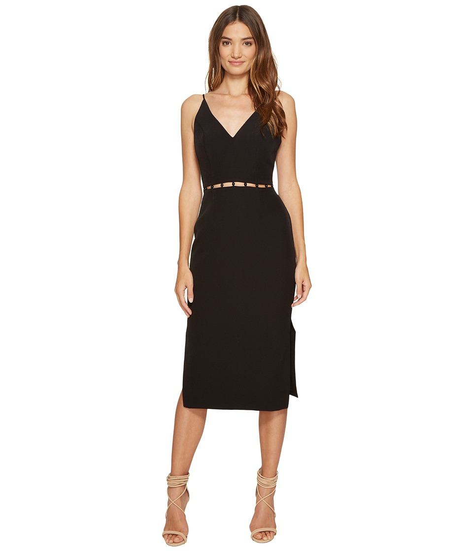 KEEPSAKE THE LABEL Signals Midi Dress (Black) Women