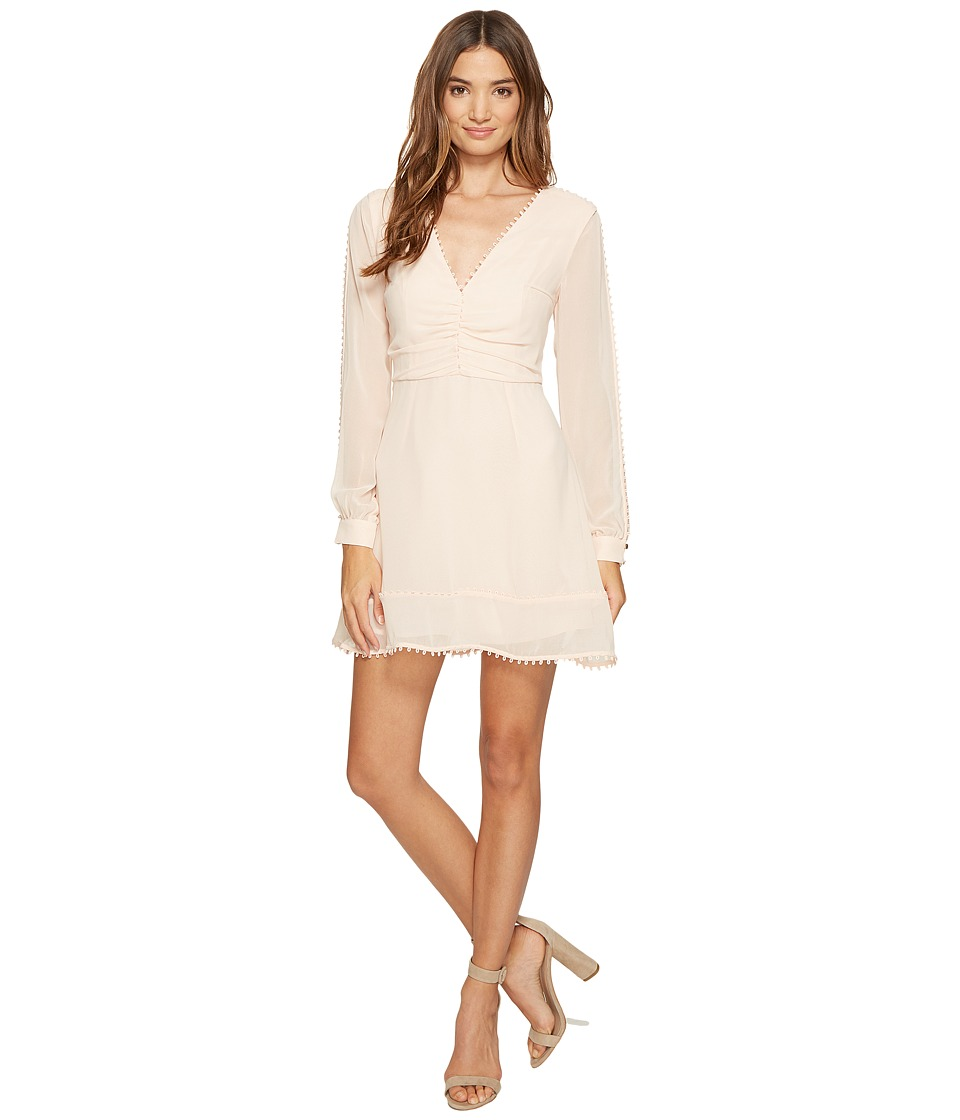 KEEPSAKE THE LABEL Come Around Long Sleeve Mini Dress (Shell) Women