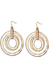 Robert Lee Morris - Hammered Orbital Drop Earrings