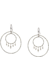 Chan Luu - Crystal Double Hoop Earrings