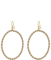 Chan Luu - Crystal Hoop Earrings