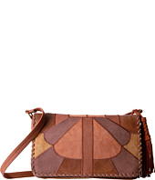 Steven - Vintage Patchwork Flapover with Genuine Suede Tassel
