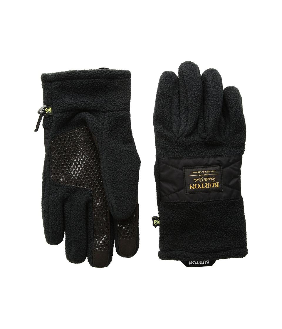 Burton Ember Fleece Glove (True Black 1) Extreme Cold Weather Gloves