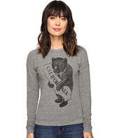 The Original Retro Brand - California Bear/Map Superfuzzy Sweatshirt