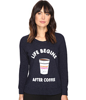 The Original Retro Brand - Dunkin Life/Coffee Perfect Cozy Sweatshirt