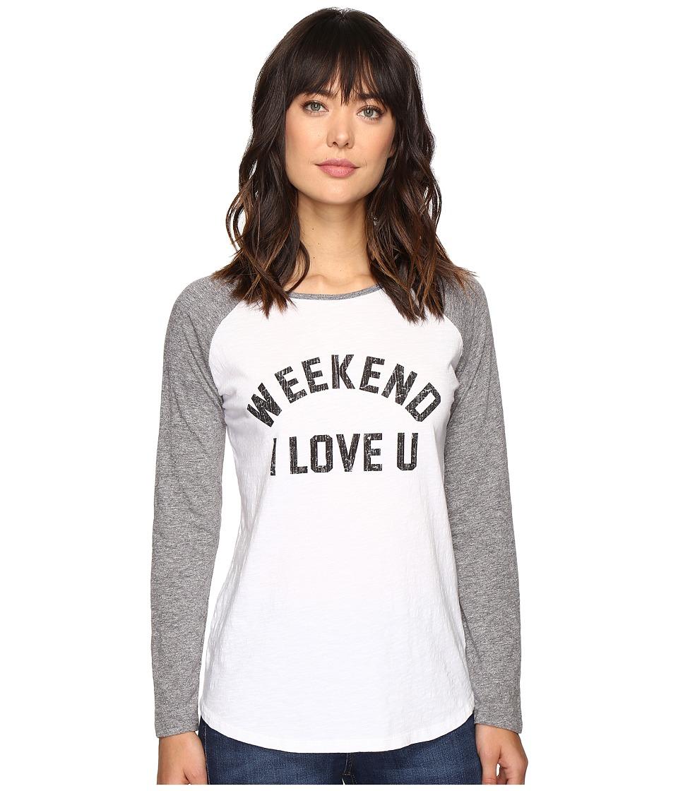 The Original Retro Brand - Weekend Love U Long Sleeve Raglan