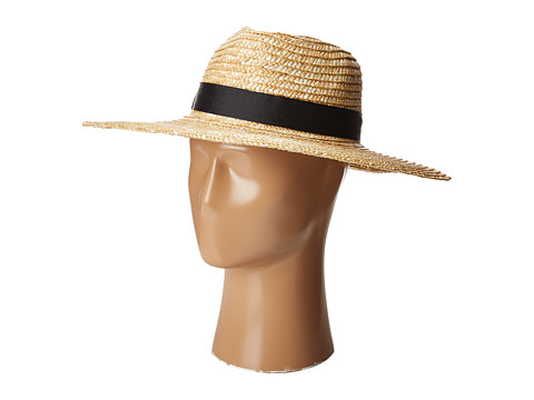 Lack of Color The Spencer Fedora - Straw