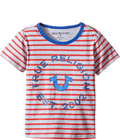 True Religion Kids - Heather Jersey Stripe Tee (Toddler/Little Kids)