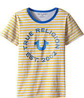 True Religion Kids - Heather Jersey Stripe Tee (Big Kids)