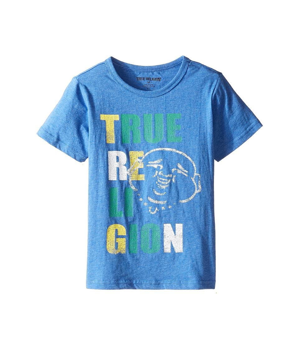 True Religion Kids Buddha Pop Tee (Toddler/Little Kids) (Bright Blue) Boy